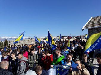 Nizom manifestacija obilježen Dan nezavisnosti Bosne i Hercegovine