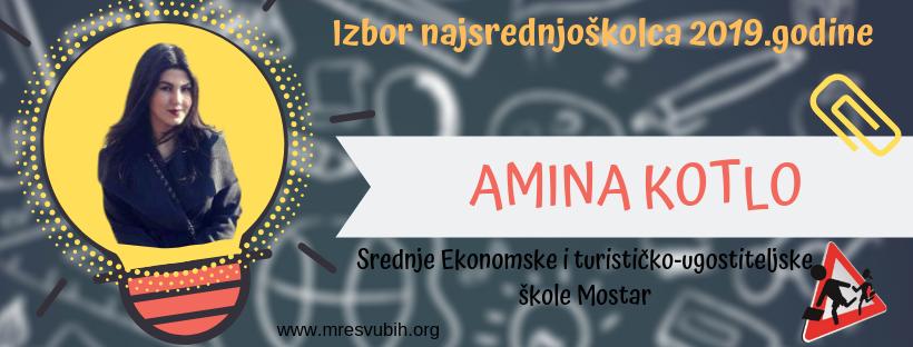 Podržimo Aminu Kotlo