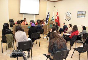 Azemina Ćimić osvojila prvo mjesto na takmičenju iz turskog jezika